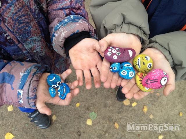 Камни-пришельцы, найденные во дворе