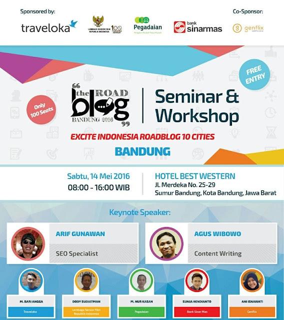 Keseruan RoadBlog Bandung 2016