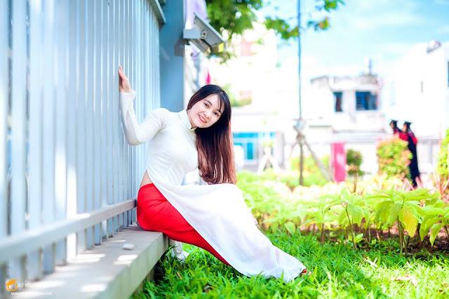 thuê áo dài học sinh tphcm