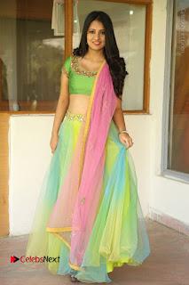 Actress Nikitha Bisht Stills in Lehenga Choli at Pochampally Ikat Art Mela Launch  0394.JPG