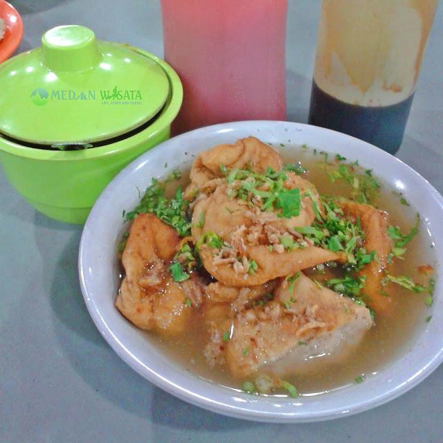 Kuliner di Binjai - Bakso Tahu Wak Ngat