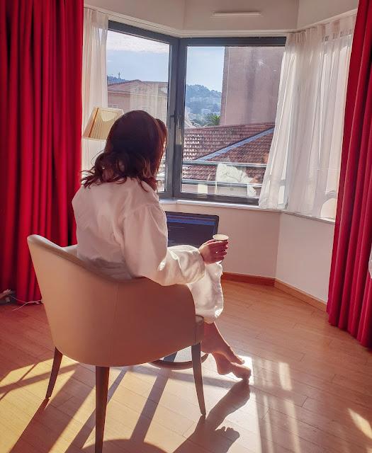 Cannes, Costa Azzurra. Hotel Eden. Alessia Siena