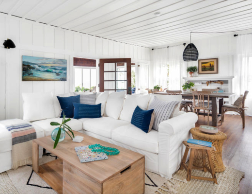 Coastal Bohemian Beach Cottage Decor Style