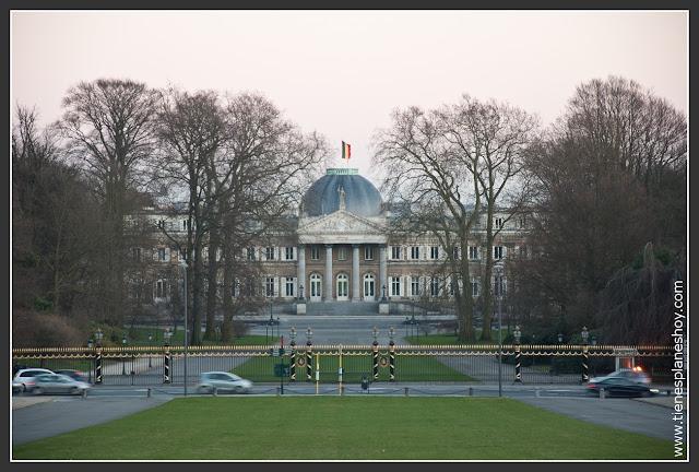 Castillo Real Laeken Bruselas