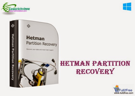 Hetman Partition Recovery 2.1 + Serial