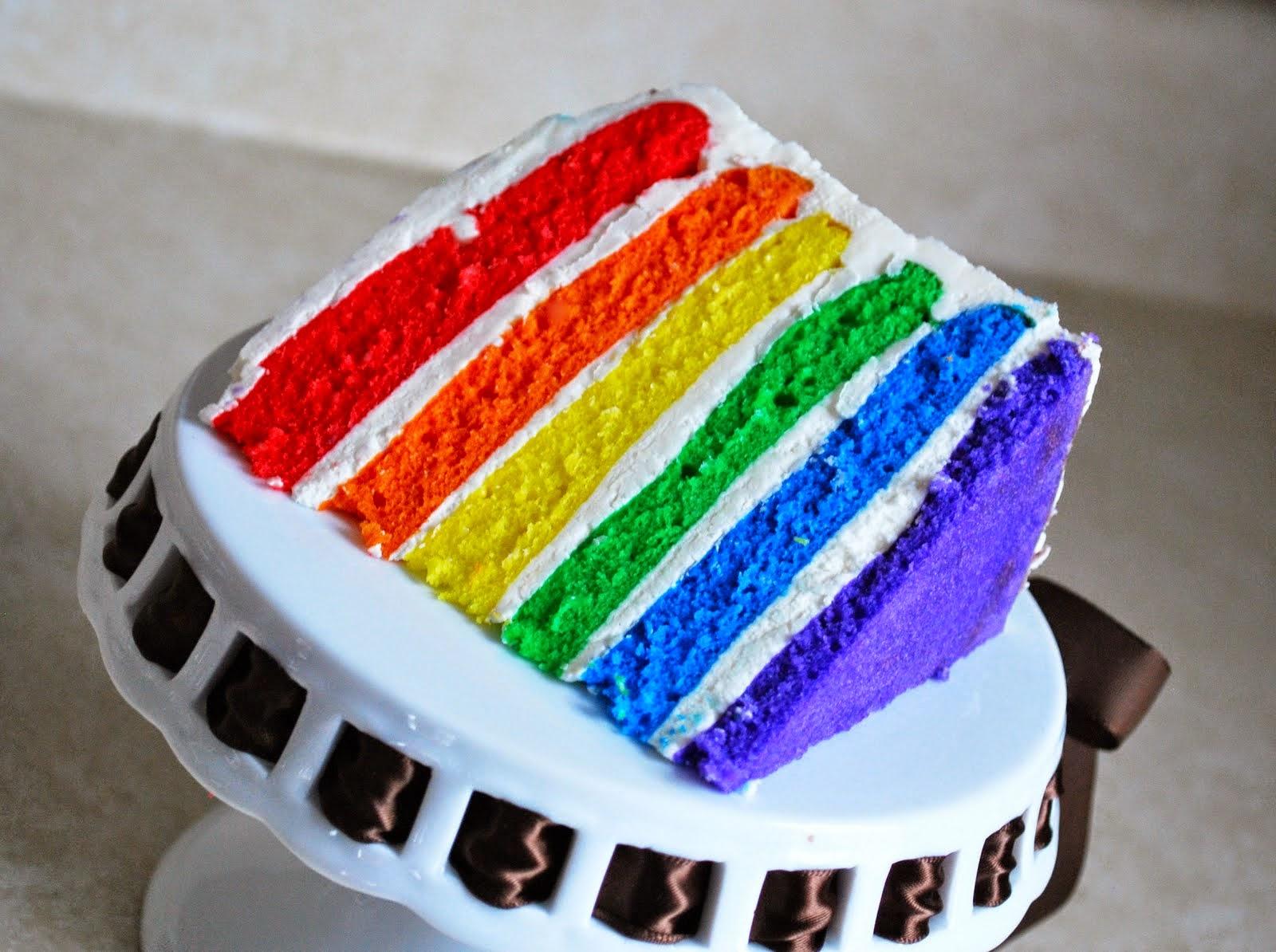 Resep Cake Kukus Yang Lembut: Ajeng Santika: Asal Usul Cake Rainbow
