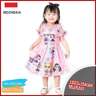 MRX085 Dress Anak Sabrina Bahan Satin BMGShop