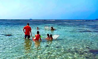 pulau putri liburan keluarga