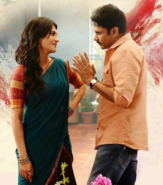 Shruti hassan romancing Pawan Kalyan in Katamarayudu Telugu Movie Remake of Tamil Veeram