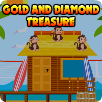 AvmGames Gold And Diamond Treasure Escape