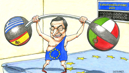 ANTONIO BARBUTO VS MARIO DRAGHI
