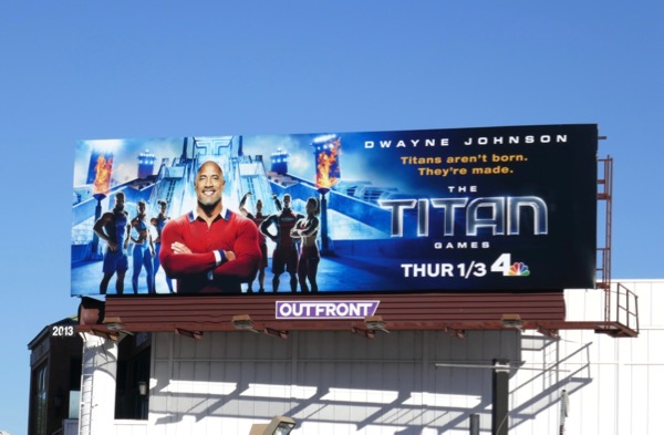 Titan Games series billboard