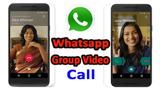 Whats app Group Video Call,  Whats app New Update 2018