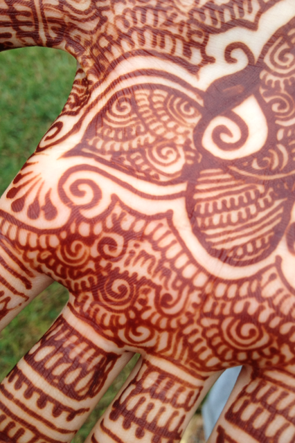 Writing Your Future Husband S Name In Henna Sonal J Shah Event