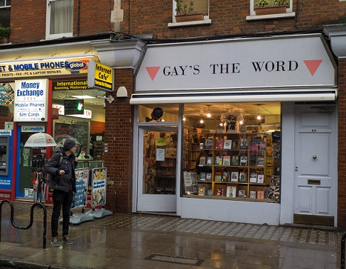 Gay's the Word bookshop, London