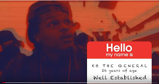 New Video: KB The General - No Mercy
