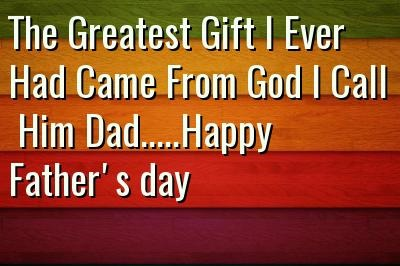 Funny Happy Fathers Day Status