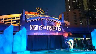 Pengalaman di Nights of Fright 6, Sunway Lagoon.