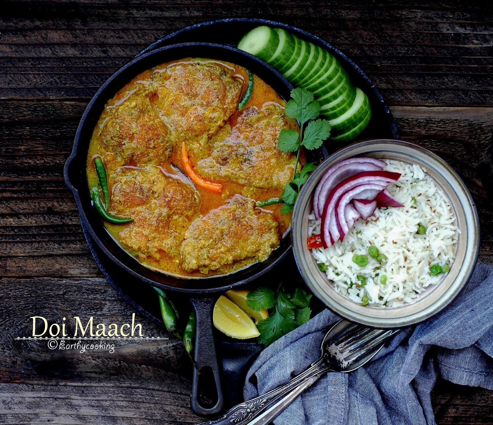 Earthycooking : Doi Maach/Fish in Yogurt Sauce