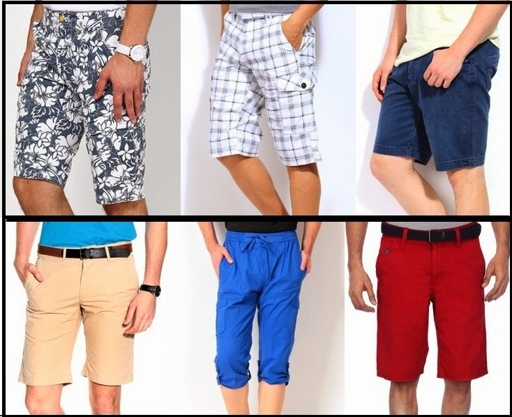 Different 3/4th Pants for Men