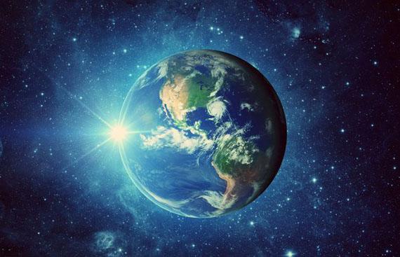 Estudo científico da formação da Terra.
