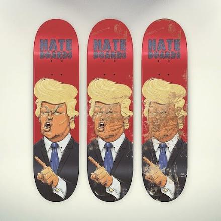 Hate Boards | Shredde die unliebsamen Gesichter auf dem Deck einfach weg