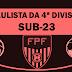 Paulista e mais 35 irão participar da 4ª divisão estadual. 1ª fase terá cinco grupos