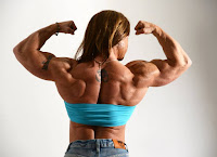 The stars of female muscle, Female bodybuilding