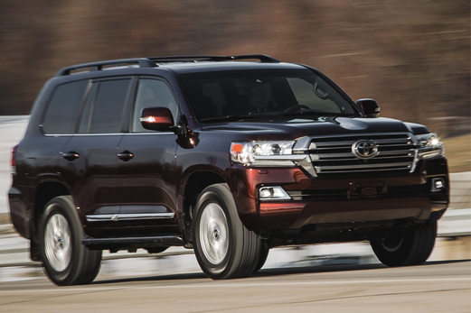 2018 toyota land cruiser review cars auto express new and used car reviews news advice. Black Bedroom Furniture Sets. Home Design Ideas