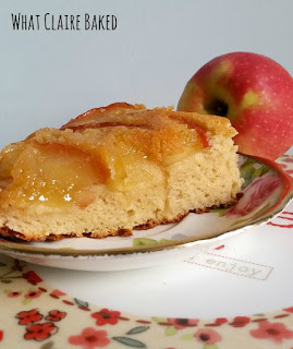 gluten free caramel apple cake