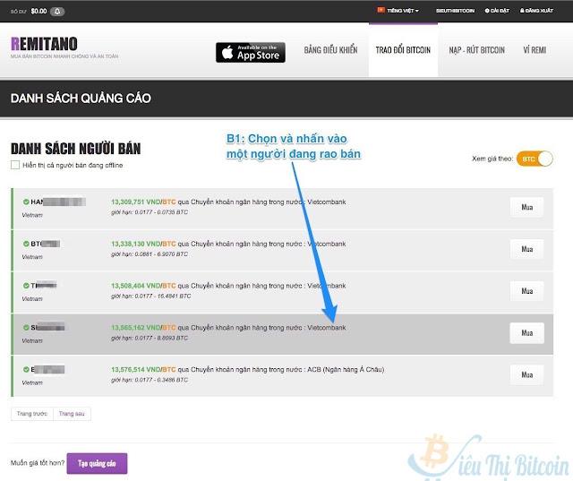 Trang web mua bán bitcoint tốt nhất