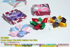 Bross Bunga Pita Satin Include Box Mika