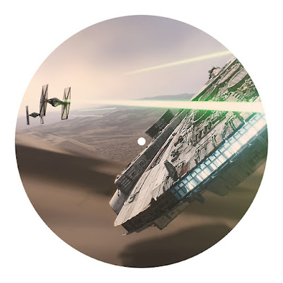 Record Store Day 2016 Exclusive Star Wars: The Force Awakens Soundtrack Picture Disc Vinyl Record Side B
