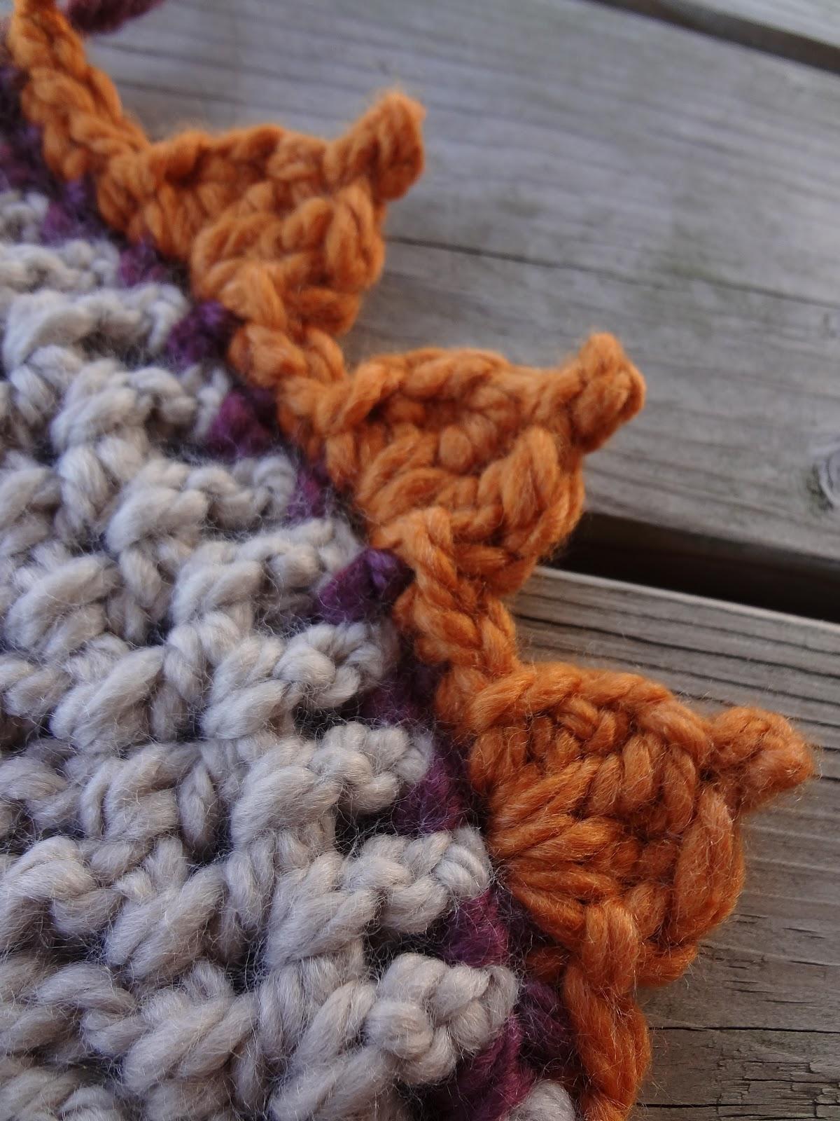 Fiber Flux: Free Crochet Pattern...Pumpkin Patch Edging!