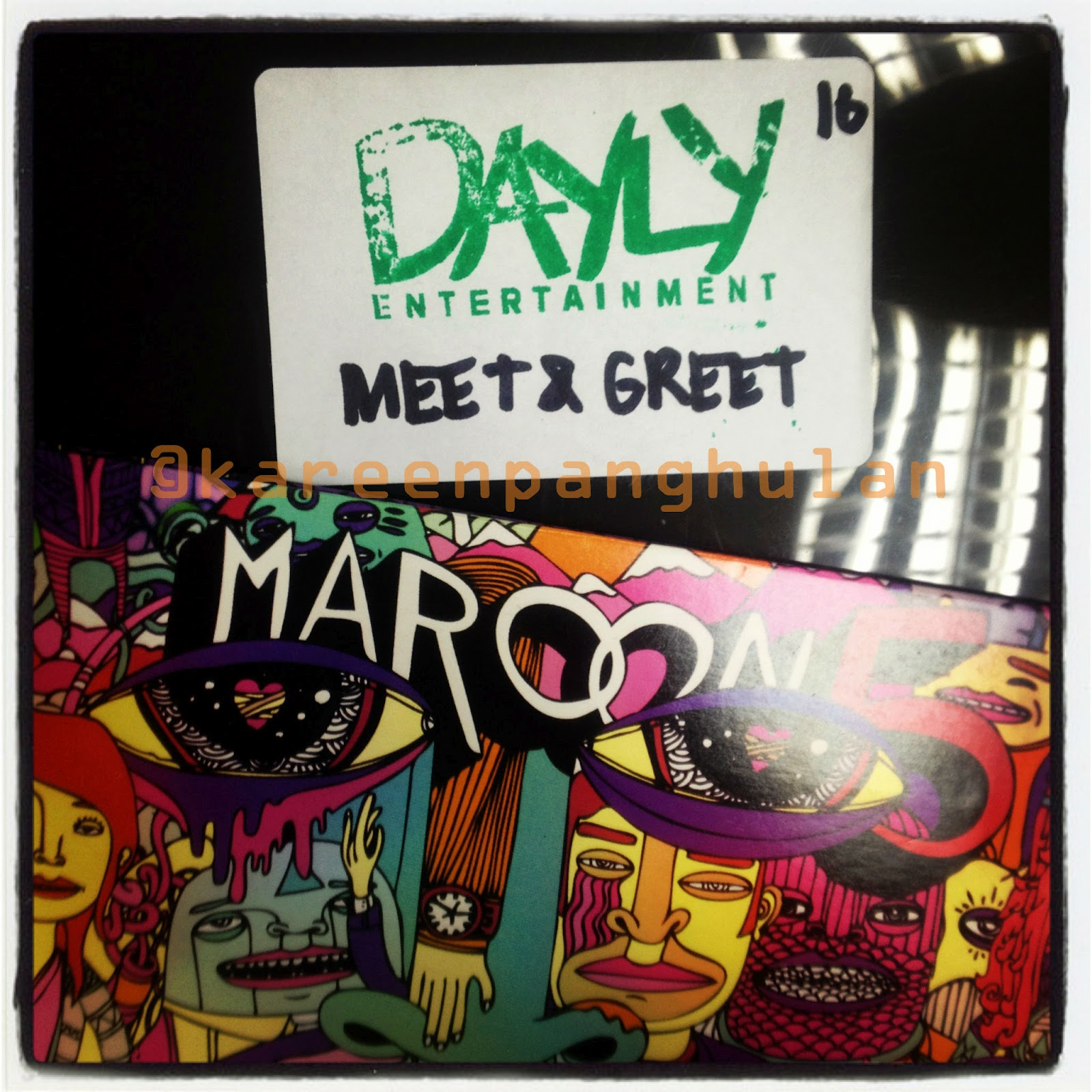 meet and greet with maroon 5