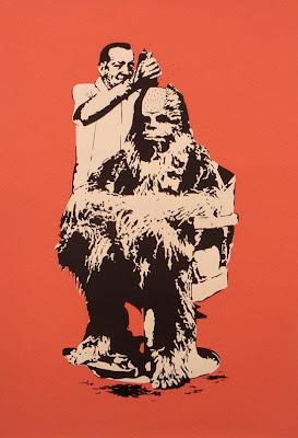 Imagen divertida y creativa  de Star Wars