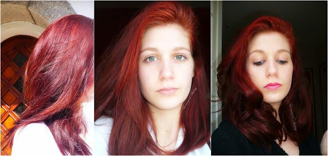 routine cheveux rouges