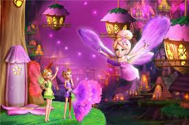 Funny Cartoon Show: Barbie Thumbelina