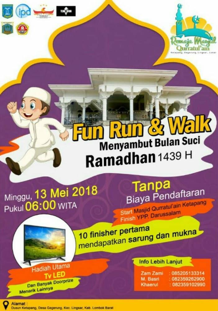Ramadhan Fun Run & Walk • 2018
