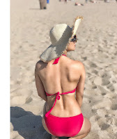 Neha Malik Looks stunning In Red Bikini In Los Angeles (9).jpg