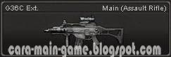 Senjata Point Blank G36C Ext.