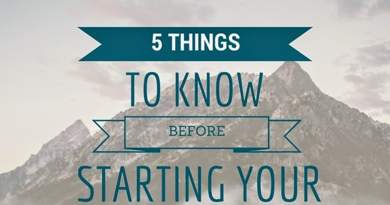 5 Things To Know Before Starting Your Dissertation