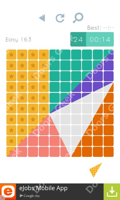 Cheats, Walkthrough for Blocks and Shapes Level 163