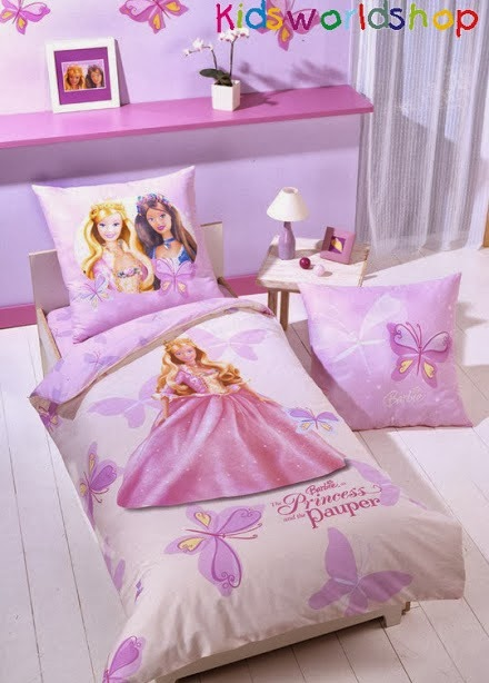 Blooms of Dahlia: barbie bedroom decor