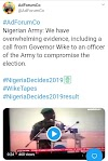 Presidential Election: Army Plays Wike's Phone Call At A Press Conference