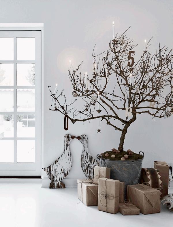 decoración de navidad bohemia e industrial chicanddeco blog