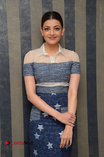 Actress Kajal Agarwal Latest Stills at Khaidi No 150 Movie Interview  0155.JPG