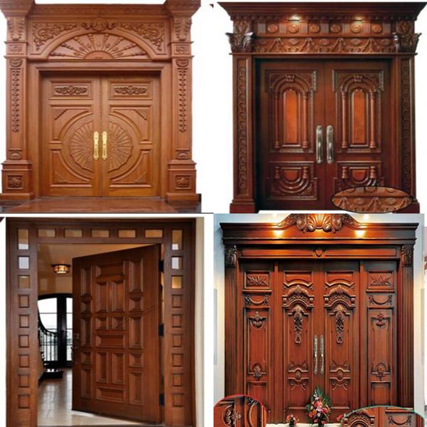 Hình ảnh mẫu cửa gỗ đẹp hiện đại 2016
