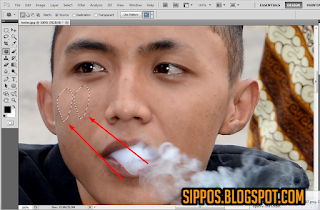 tutorial cara menghilangkan photoshop