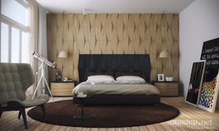 Dormitorio matrimonial chocolate